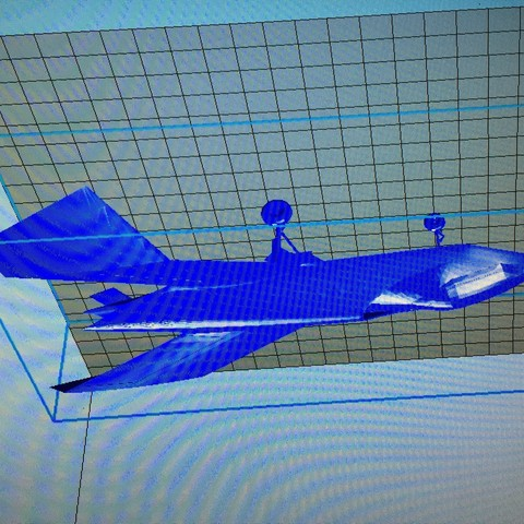 3d printer designs Prototype Avion Boeing, valentin541000
