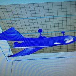 modèle 3d Prototype Avion Boeing, valentin541000