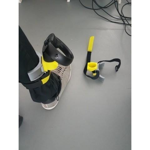 Download free OBJ file Oculus touch leg support • 3D printing design, imajon