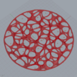 Free 3D printer file Voronoi dish, Wires