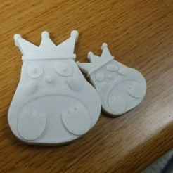 Download free 3D printer files Emperor Penguin, Penguin