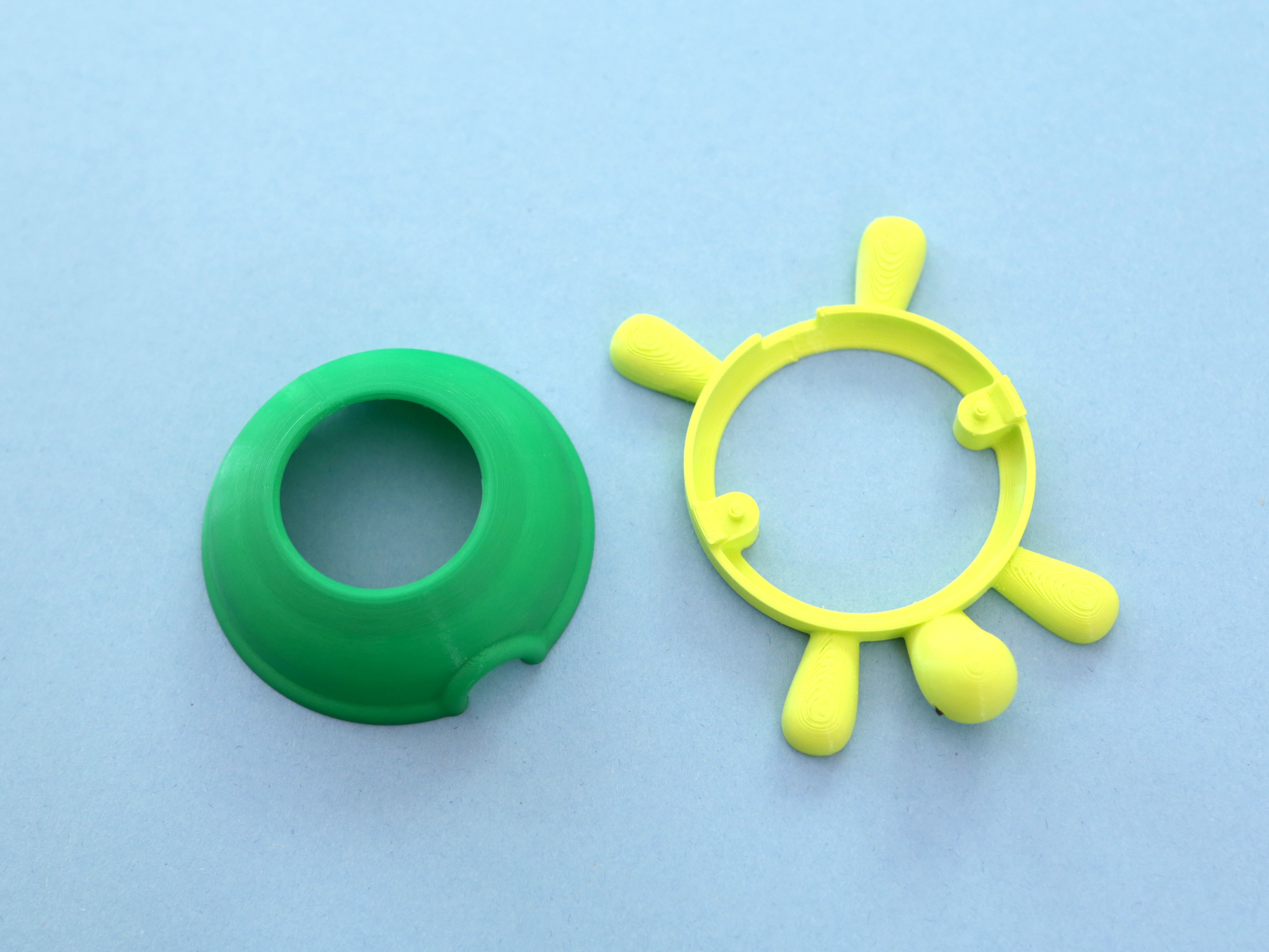 3d-parts.jpg Download free STL file Turtle TFT Gizmo • 3D print model, Adafruit