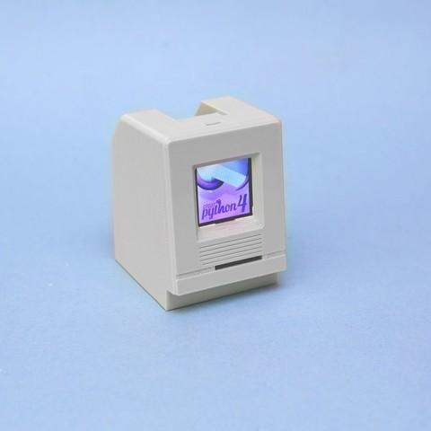 0a01f9a5ca73ab978546fa9dc5e5fc7e_display_large.jpg Télécharger fichier STL gratuit HalloWing Mac M0 • Modèle à imprimer en 3D, Adafruit