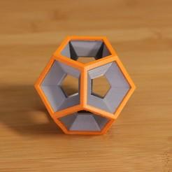 Dodecahedron-dual.jpg Télécharger fichier STL gratuit Dodecahedron • Modèle pour impression 3D, Adafruit
