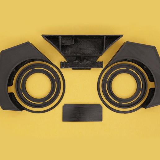3d-parts.jpg Download free 3MF file Watchmen NeoPixel Goggles • 3D printable model, Adafruit
