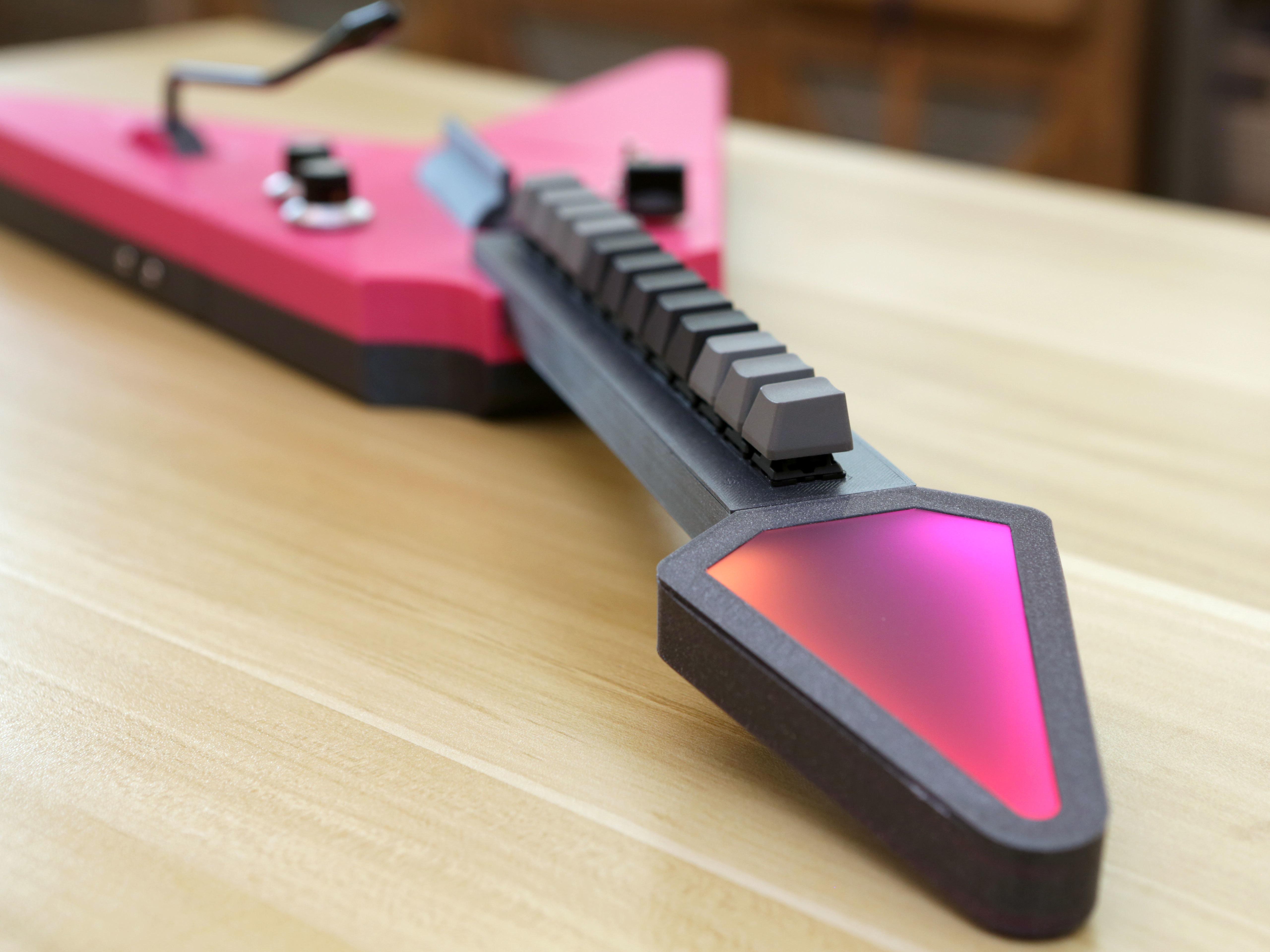 hero-head-keys.jpg Download free STL file MX MIDI Guitar • 3D print model, Adafruit