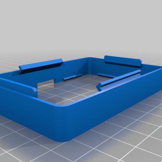 front-frame.png Download free STL file Raspberry Pi HQ Camera Case • 3D print design, Adafruit