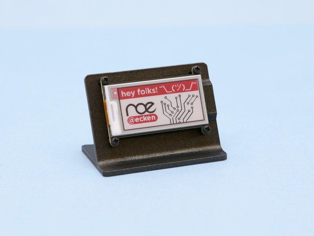 1b8d321ed2b5c5357b7054420f0774be_display_large.jpg Télécharger fichier STL gratuit Support e-Ink FeatherWing • Design pour imprimante 3D, Adafruit