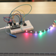 Download free 3D printing models LED Trampoline – NeoPixels and CircuitPython, Adafruit