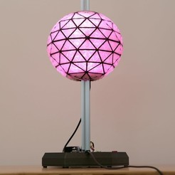 Download free 3D print files NYE Ball Drop, Adafruit