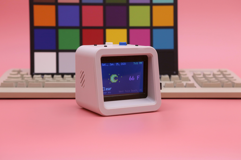 hero-colors.jpg Download free STL file ESP32 Retro Weather Station • 3D printer template, Adafruit