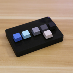Free Custom Bluetooth Cherry MX Gamepad 3D model, Adafruit