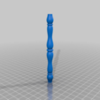 small_spindle.png Download free STL file LED Matrix Hourglass Physics Sand Toy • Object to 3D print, Adafruit