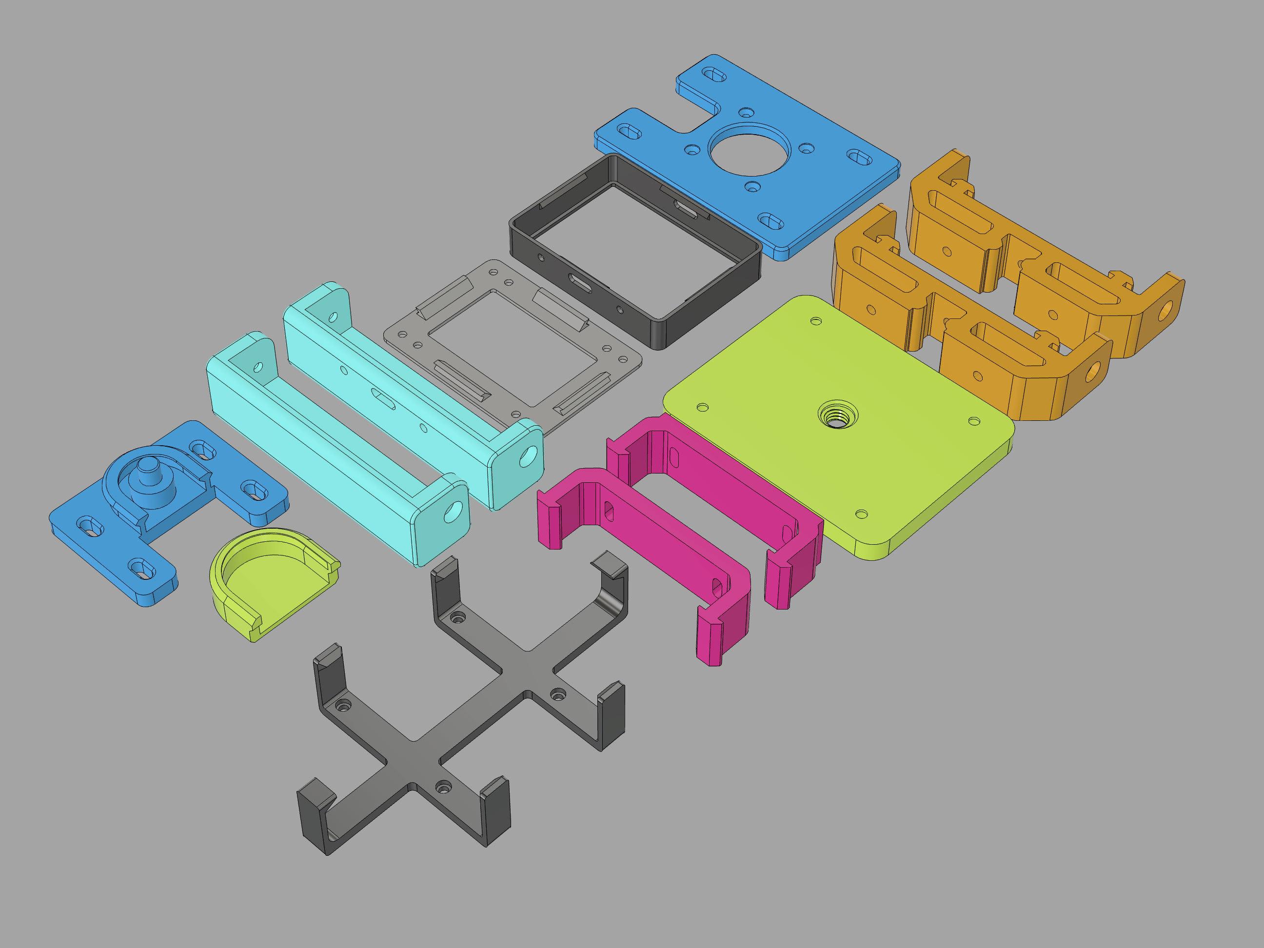 3D-parts.jpg Download free STL file CircuitPython Camera Slider • 3D print design, Adafruit