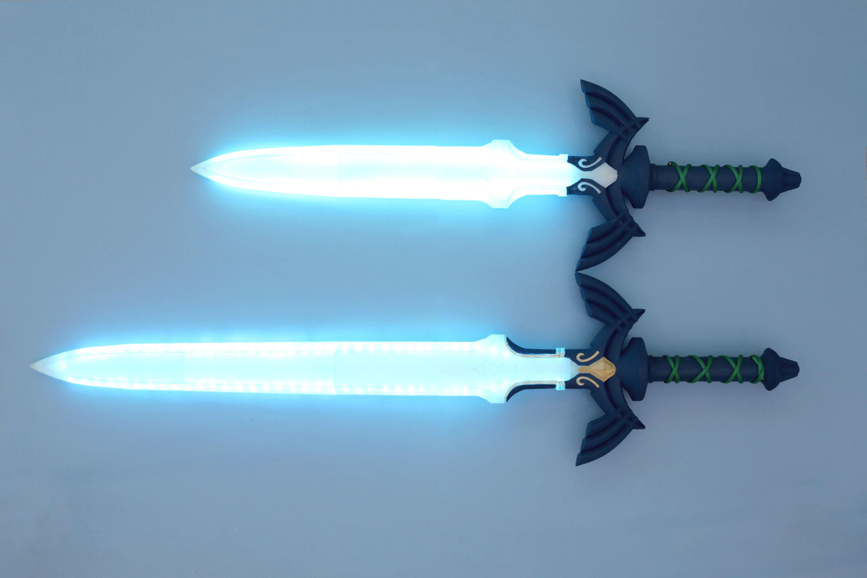 hero-sword-size-blue.jpg Télécharger fichier STL gratuit LED Zelda Master • Modèle pour imprimante 3D, Adafruit