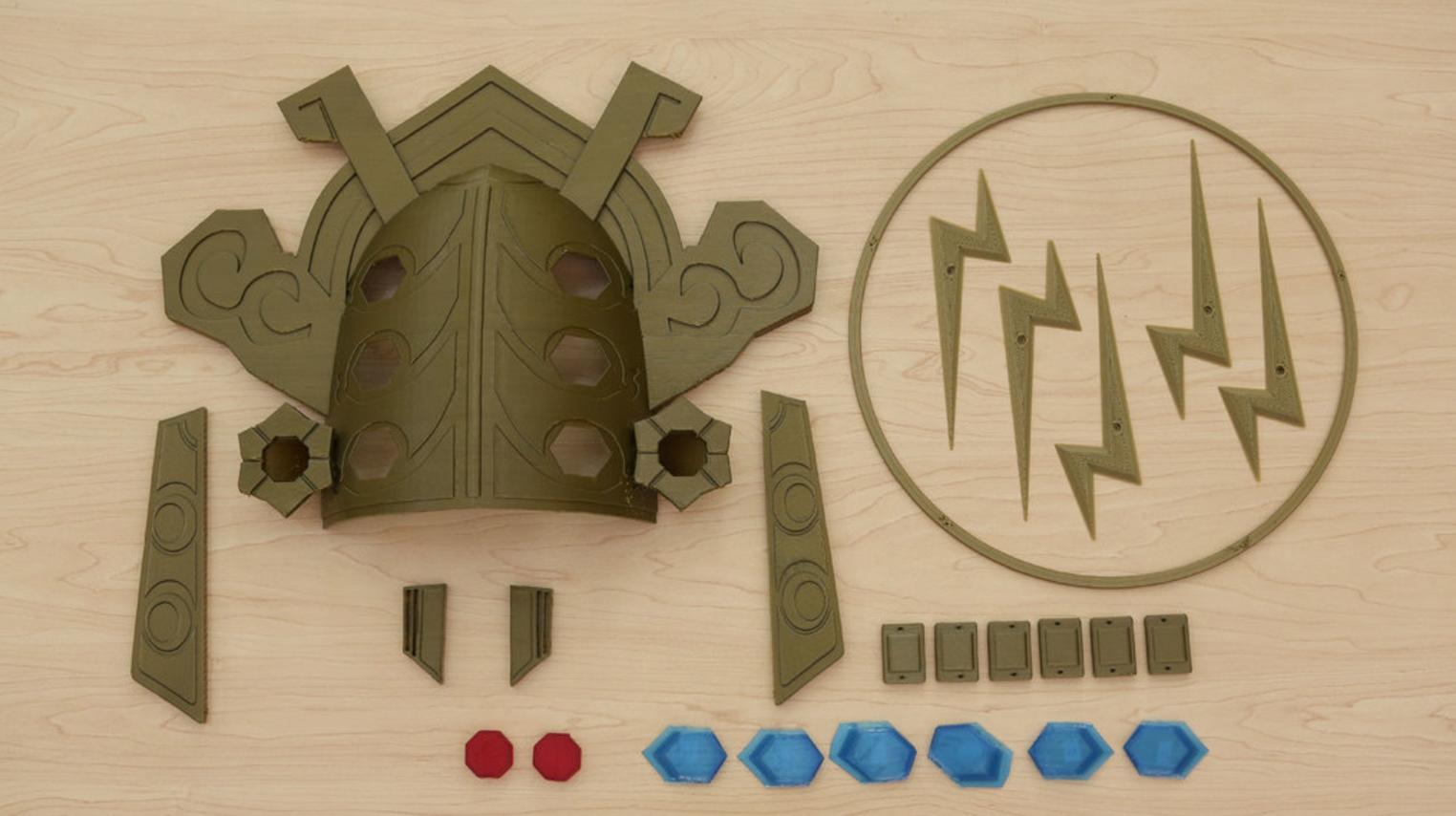 Capture d'écran 2017-08-23 à 13.16.51.png Télécharger fichier STL gratuit Thunder Helm - Zelda Breath of The Wild • Plan pour imprimante 3D, Adafruit