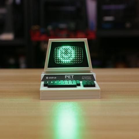 Capture d'écran 2016-12-01 à 10.43.51.png Télécharger fichier STL gratuit Mini Commodore PET with Charlieplexed LED Matrix • Plan à imprimer en 3D, Adafruit