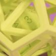 Modèle 3D gratuit D20 à l'intérieur de l'icosaèdre, Adafruit