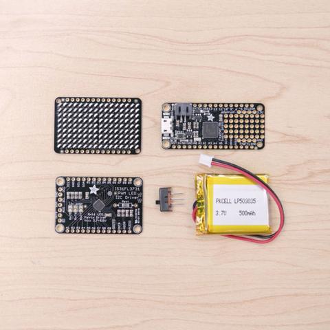 Capture d'écran 2016-12-01 à 10.43.30.png Télécharger fichier STL gratuit Mini Commodore PET with Charlieplexed LED Matrix • Plan à imprimer en 3D, Adafruit