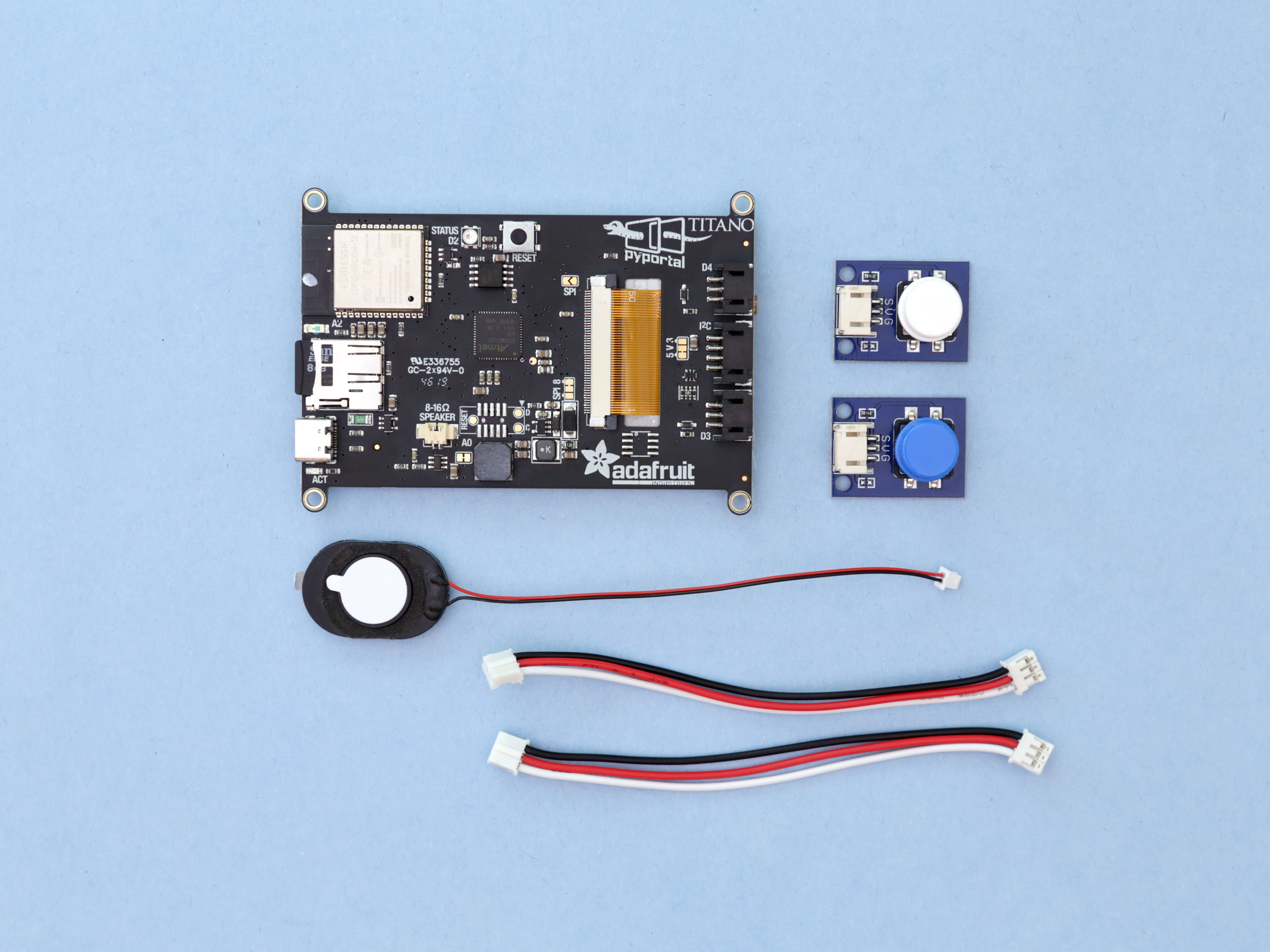 parts.jpg Download free STL file ESP32 Retro Weather Station • 3D printer template, Adafruit