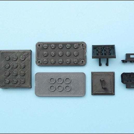 3d-parts-2-sm.jpg Download free STL file Neon Neopixel Strip Lego • 3D printable template, Adafruit