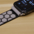 Download free STL file Apple Watch Band [Ninjaflex] • 3D printer model, Adafruit