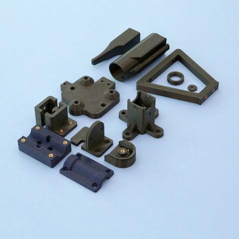 Objet 3D gratuit Chauffage de l'appareil de pose d'inserts Heat Set, Adafruit