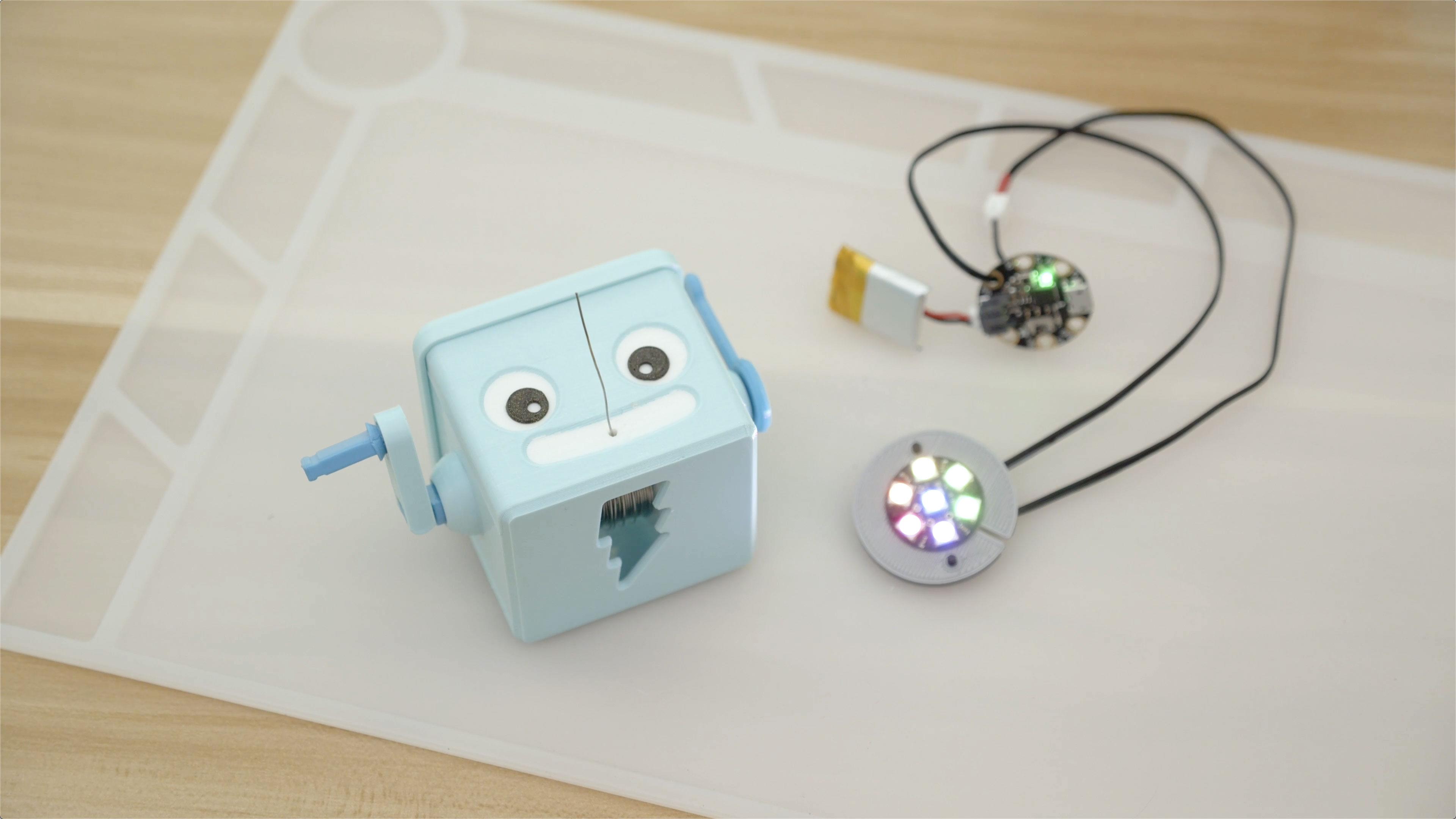 hero-adabot-jewel.jpg Télécharger fichier STL gratuit Distributeur de soudure à manivelle à main • Objet imprimable en 3D, Adafruit