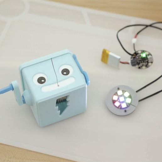 hero-adabot-jewel.jpg Download free STL file Hand Crank Solder Dispenser • 3D printable design, Adafruit