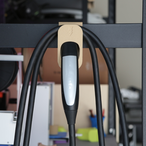 Capture d'écran 2018-01-31 à 17.59.18.png Download free STL file Tesla Cable Holder • 3D printer design, Adafruit