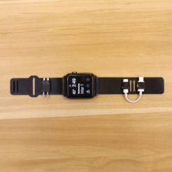 Free STL Apple Watch Band [Ninjaflex], Adafruit