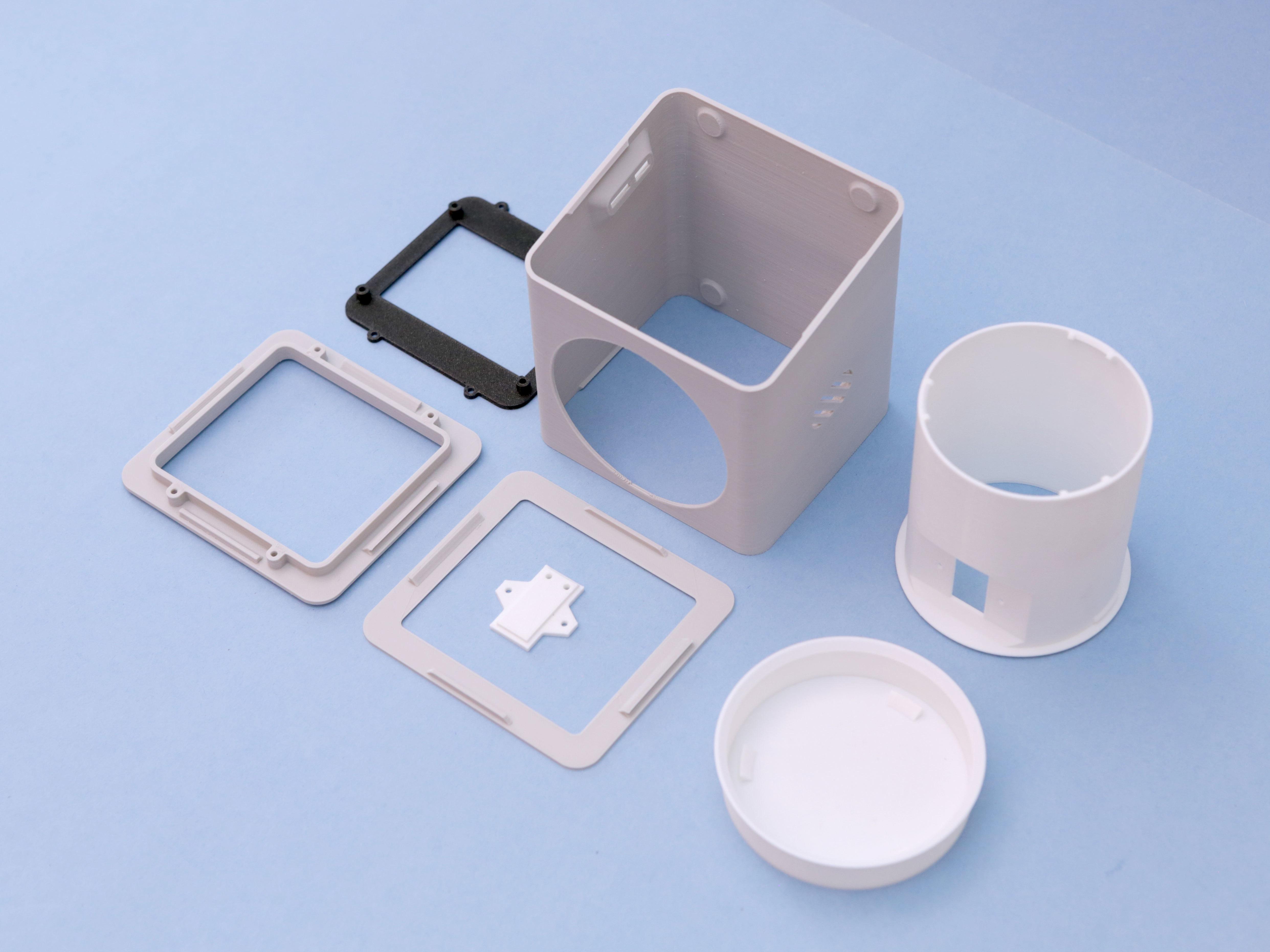 3d-parts.jpg Download free STL file IOT Smart Pet Planter • Template to 3D print, Adafruit