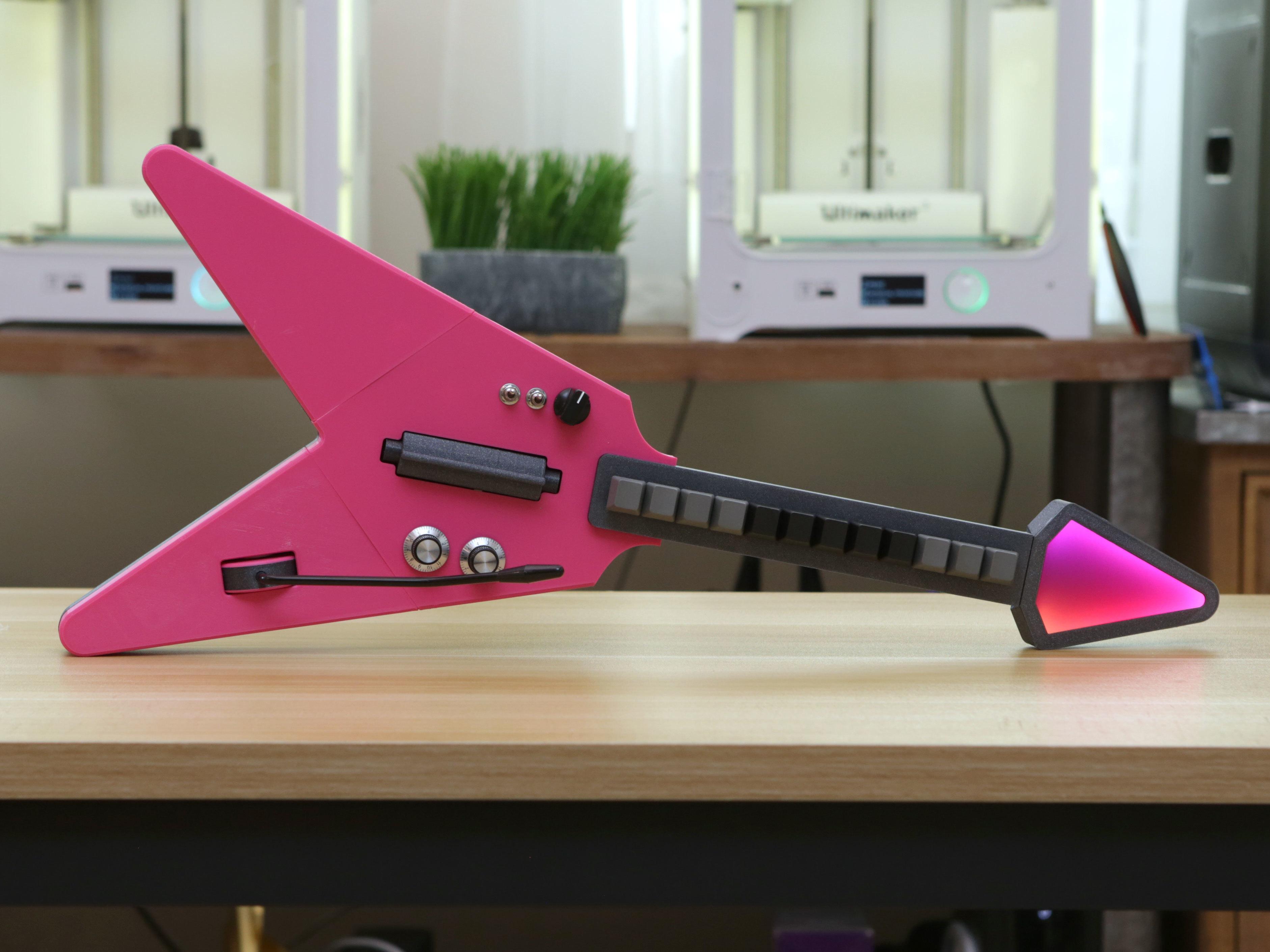hero-full-upright.jpg Download free STL file MX MIDI Guitar • 3D print model, Adafruit