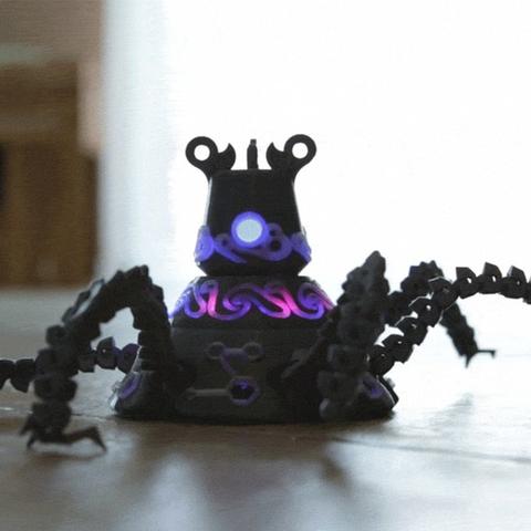Capture d'écran 2017-07-19 à 18.58.12.png Download free STL file Guardian Robot Hackable – Bottom Remix • 3D print object, Adafruit