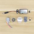 Download free 3D printer model Motorized Dice Roller, Adafruit