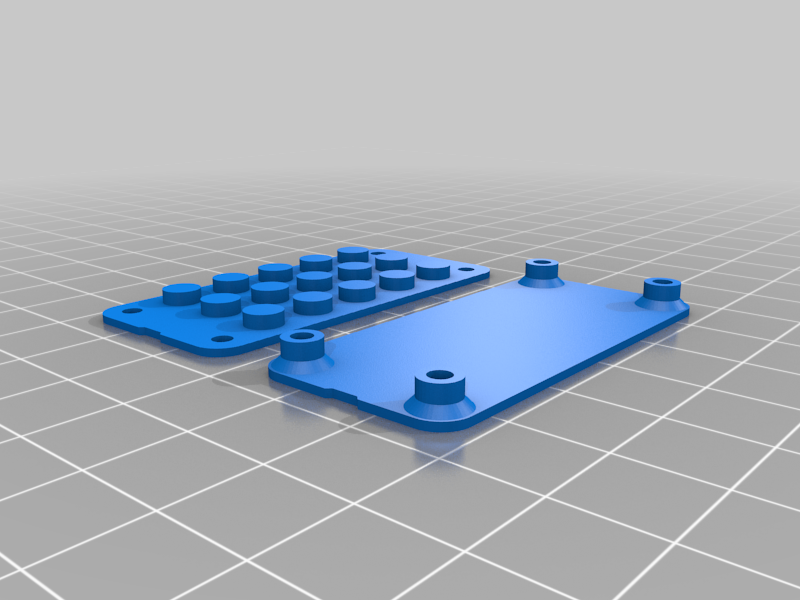 Feather-lego-studs.png Download free STL file Neon Neopixel Strip Lego • 3D printable template, Adafruit