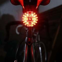 Download free STL file Auto Bike Light for Circuit Playground • 3D printable model, Adafruit