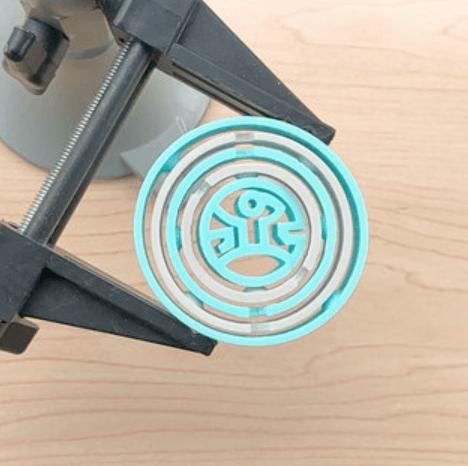 Capture d'écran 2018-07-05 à 09.55.22.png Download free STL file West World Gyro (Dual Extrusion) • 3D printing template, Adafruit