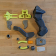 Free 3d printer files Overwatch Lucio Blaster, Adafruit