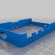 back-frame.png Download free STL file Raspberry Pi HQ Camera Case • 3D print design, Adafruit