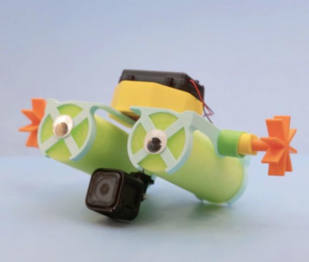 Capture d'écran 2018-08-01 à 12.02.57.png Download free STL file Crickit Paddle Wheel Boat • 3D printer design, Adafruit