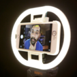 Free STL file LED Ring Light, Adafruit