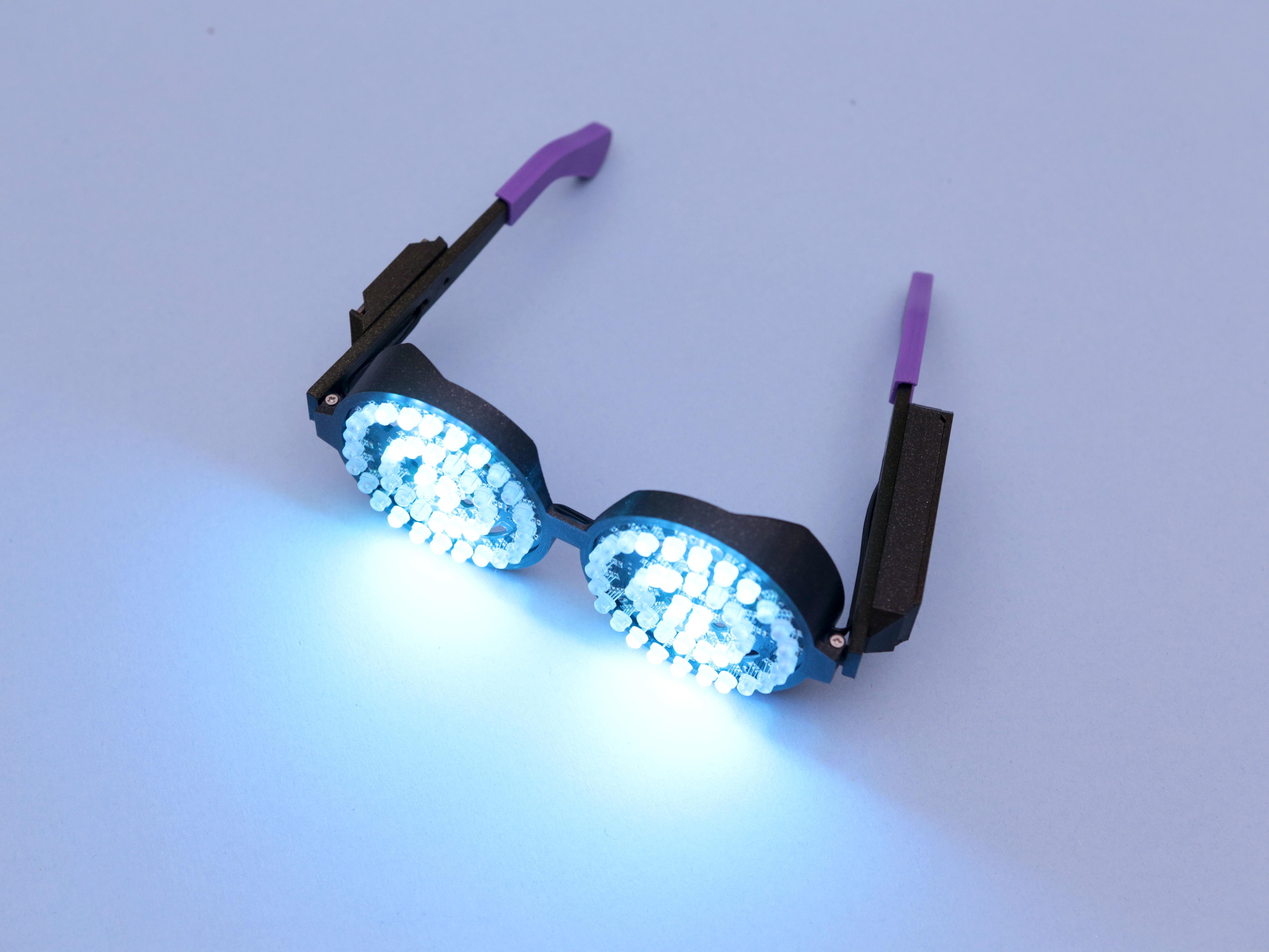 hero-blue.jpg Download free STL file Rezz-Inspired NeoPixel Glasses • 3D printing template, Adafruit