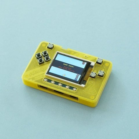 Download free 3D printer model PyBadge Case, Adafruit
