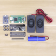 Modèle 3D gratuit Raspberry Pi Airplay BoomBox, Adafruit