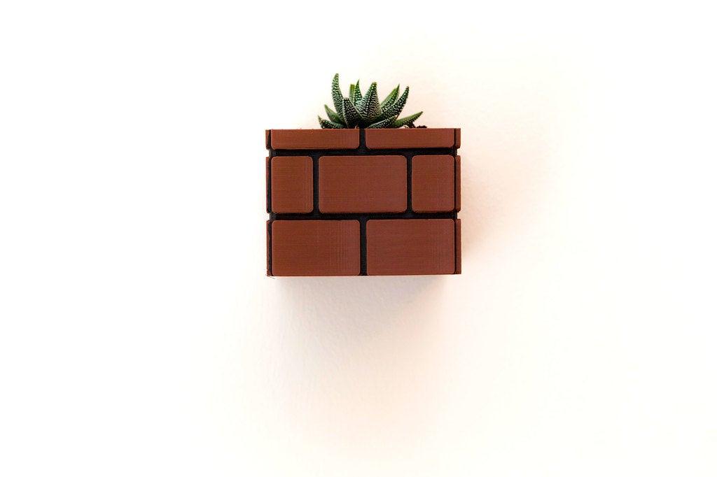 03b9d2063e2b6ed0080220ede84ee389_display_large.jpg Download free STL file Mario Brick Planter • 3D print design, Adafruit
