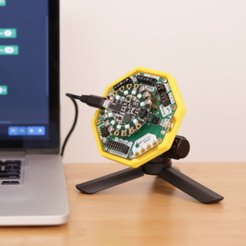 Download free STL Mount for CRICKIT, Adafruit