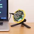 Télécharger plan imprimante 3D gatuit Support pour CRICKIT, Adafruit