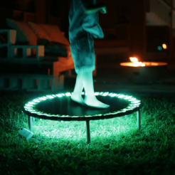 Free 3d printer files LED Trampoline – NeoPixels and CircuitPython, Adafruit