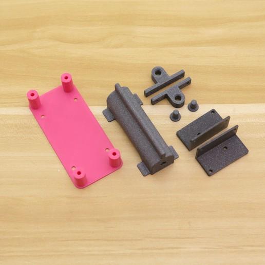 strum-parts.jpg Download free STL file MX MIDI Guitar • 3D print model, Adafruit